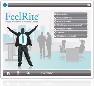 FeelRite E-learning Screenshot