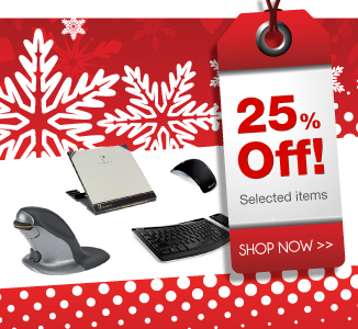 25% off a range of Christmas gifts from Posturite
