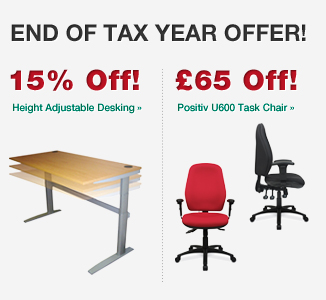 Bag yourself an end of tax year bargain desk and chair