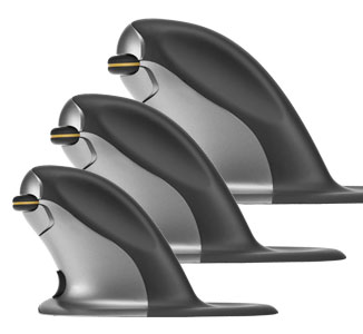 Penguin Ambidextrous Vertical Mouse