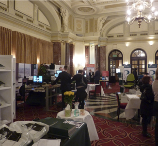 Posturite Showcase at the Charing Cross Hotel