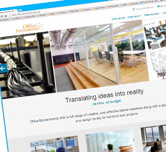 Office Environments launches new website