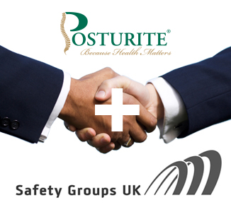 Posturite sponsors Safety Groups UK