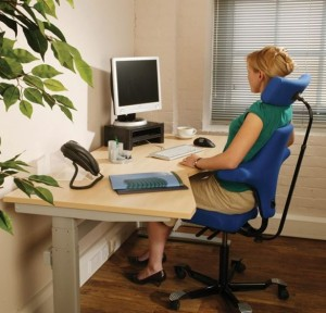 Make sure you sit and stand throughout your working day