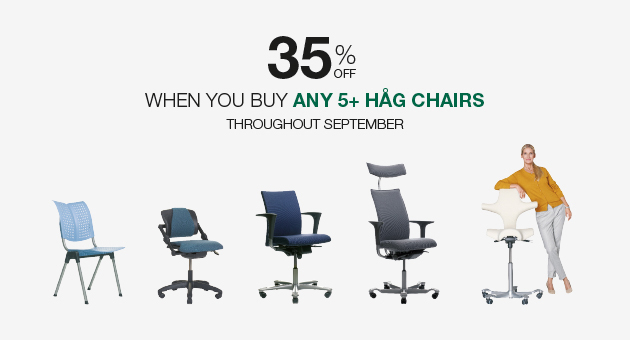 Amazing discounts on ergonomic seating