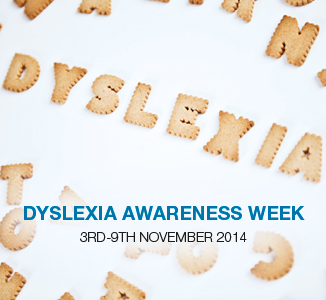 Dyslexia Awareness Week: 3rd – 9th November 2014