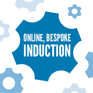 Save time and money with our bespoke online induction training