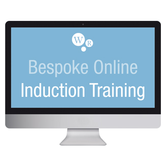 Bespoke online induction training will save you time and money