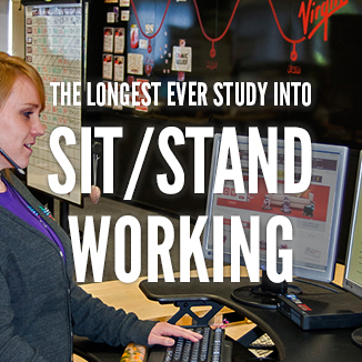 Posturite plays key role in year-long study into health benefits of sit-stand working