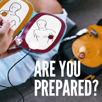 Do you have a defibrillator on your premises?