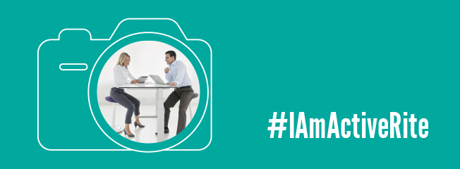 Tweet us your active working pics to win a sit-stand desk