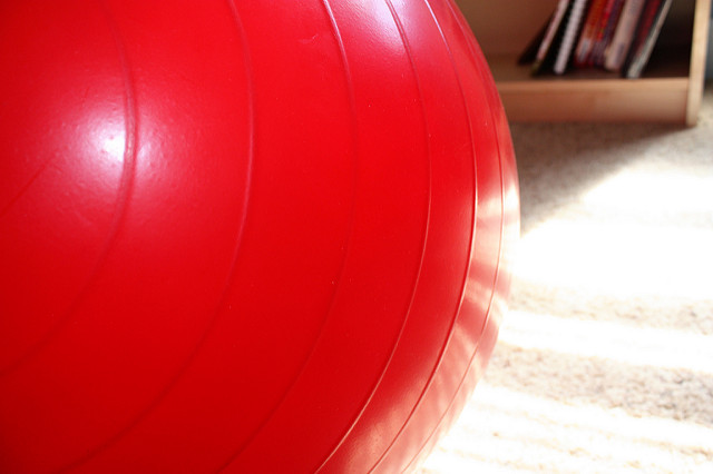 Why you shouldn't be using that fitness ball as an office chair