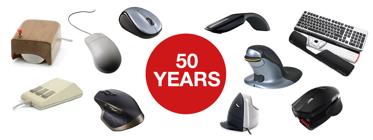 After 50 years of the computer mouse, what does the future