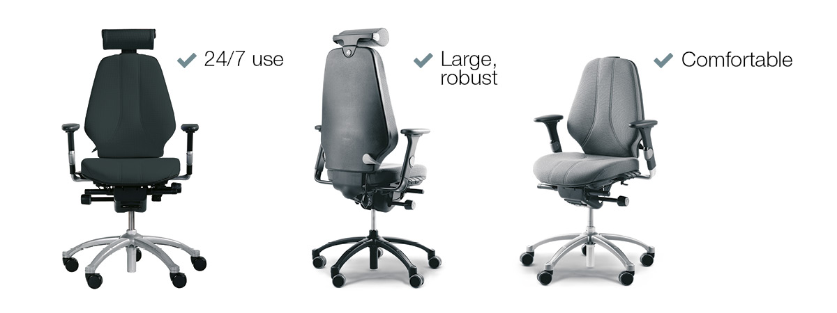 RH Logic Ergonomic Chair