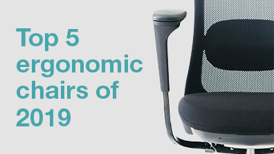 5 best ergonomic chairs for 2019