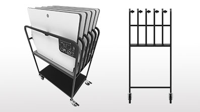 New Opløft platform and storage rack bundle solves problem of space and budget
