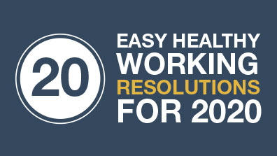 20 healthy working habits to try in 2020