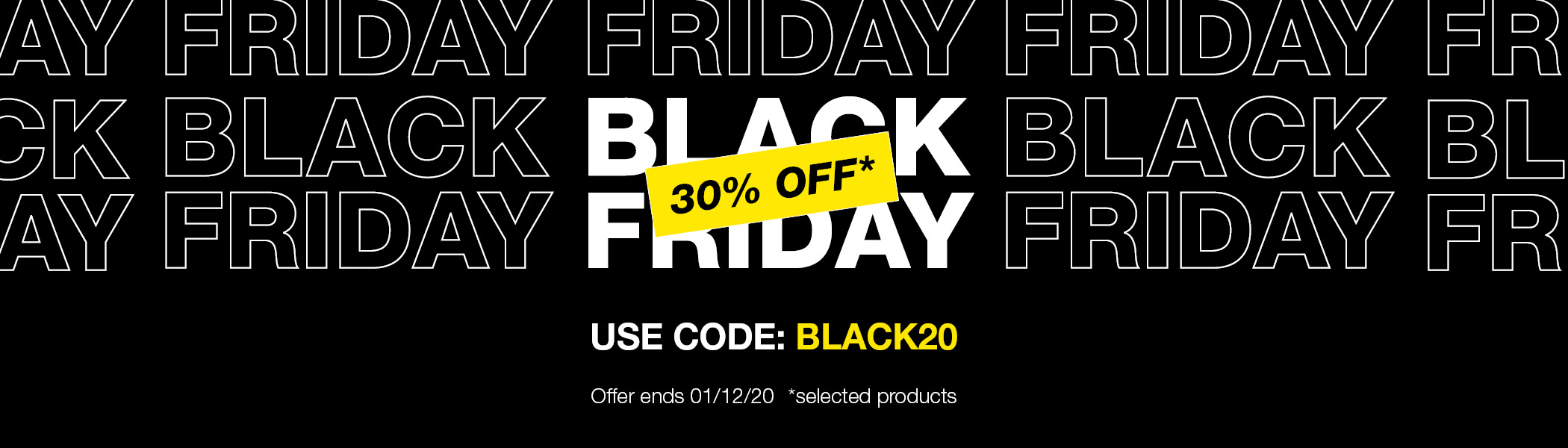 Black Friday products featured in offer...