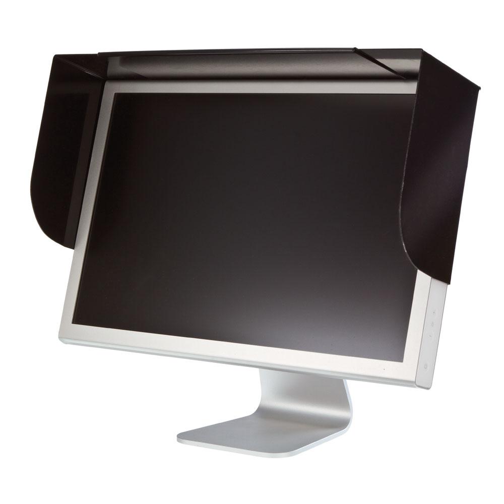 Adjustable Anti-glare Screen Hood for Flat Screens