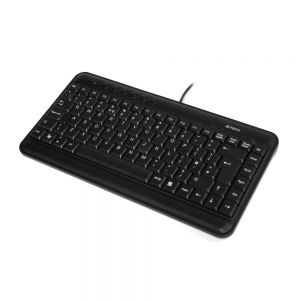 A4 Tech Compact Mini Keyboard - Black