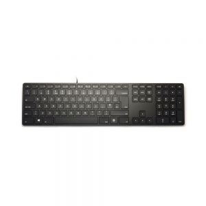 Matias Backlit Soft Touch Keyboard - front view