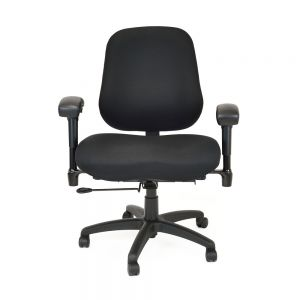 BodyBilt B2503 Bariatric High Back Chair with Arms - front view
