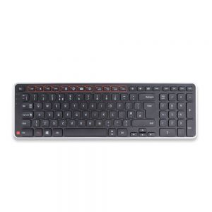 Balance Keyboard (Black) - birdseye view