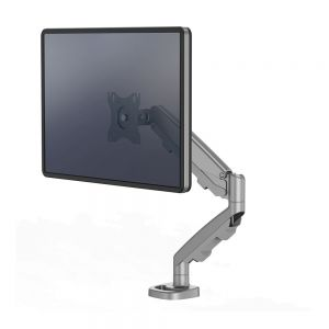 Eppa Single Monitor Arm - shown with monitor
