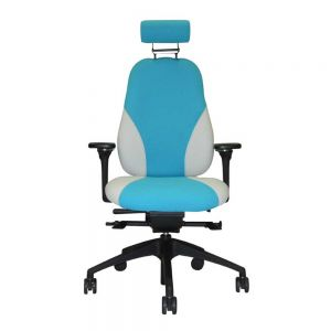 ZentoSmart Chair - with arms & headrest - front view