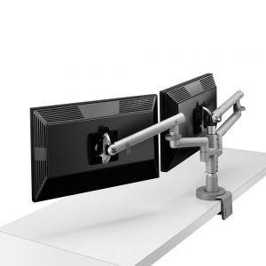 CBS Flo Modular Arm - showing two monitors
