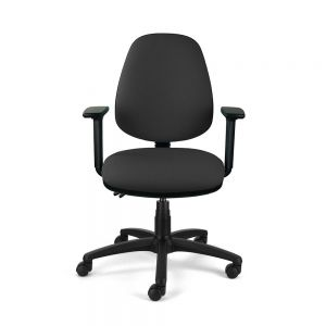 Homeworker Ergonomic Office Chair - front view, with armrests