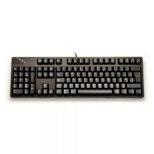 Left-Handed Mechanical Keyboard - front view
