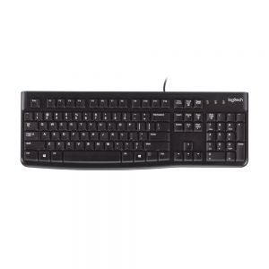 Logitech 'Soft Touch' K120 Keyboard - birdseye view