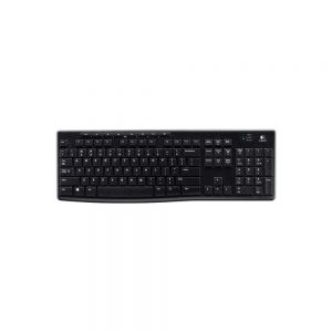 Logitech K270 Wireless Keyboard - front view