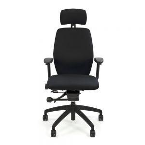 Positiv Plus Medium Back (including armrests/headrest) - Black