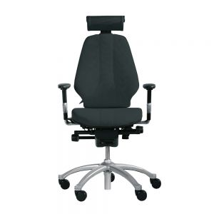 RH Logic 300 (including 8S armrests/neckrest) - Black