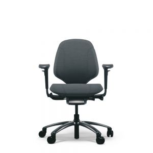 RH Mereo 200 Black (medium back) Ergonomic Office Chair