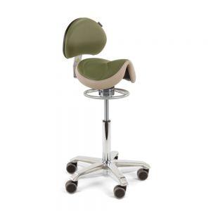 Score Amazone Balance Saddle Stool with Backrest