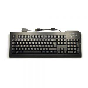 Silver Seal Smart Card Reader Washable Keyboard - birdseye view