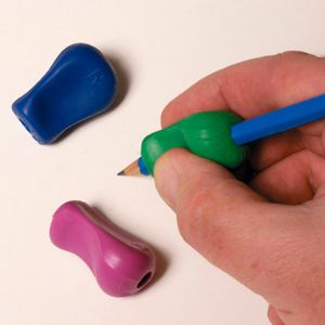 Soft Pencil Grip being held