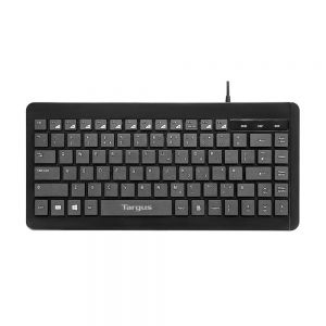 Targus Compact Wired Multimedia Keyboard - front view