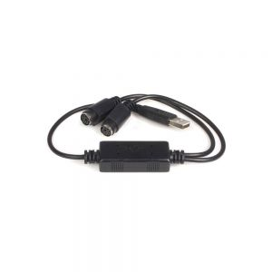 USB PS/2 Splitter Cable