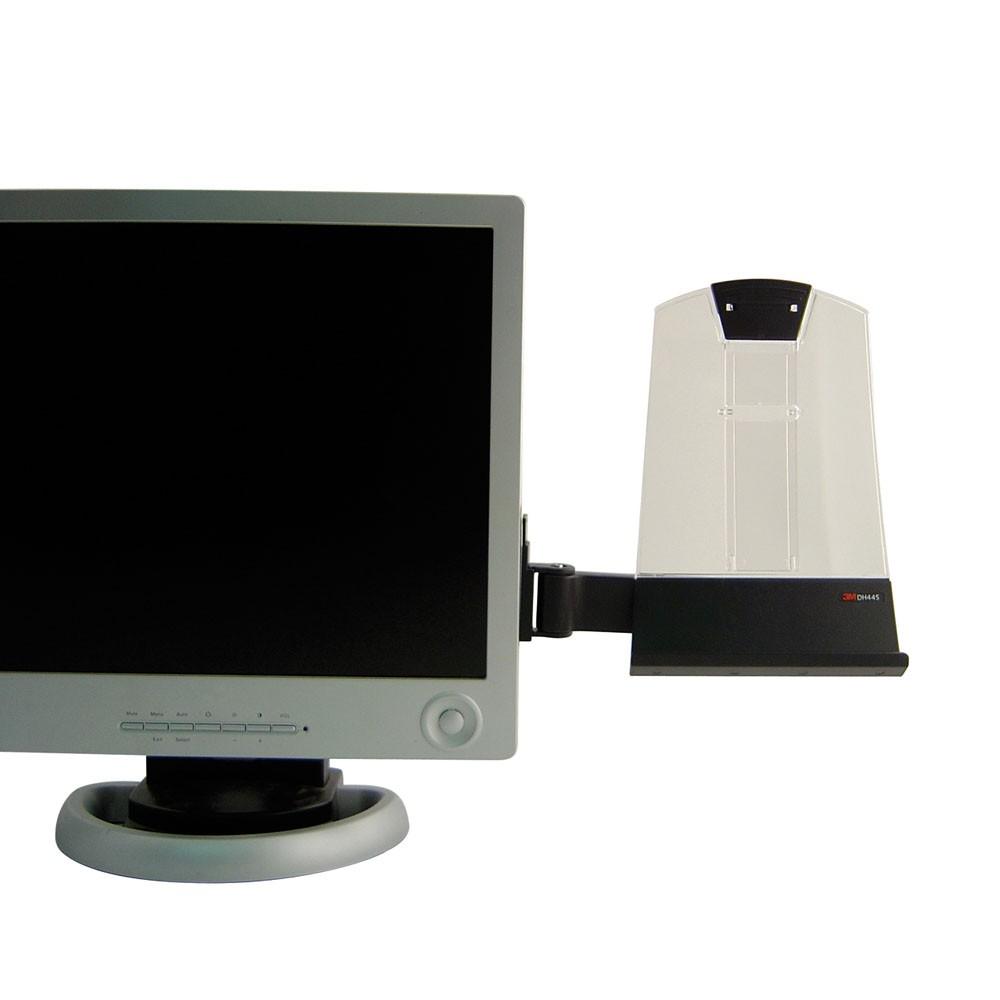 3m flat screen document holder from posturite With document holder for flat screen monitor
