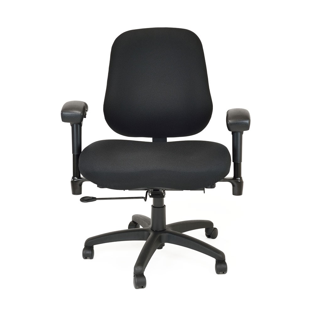 BodyBilt B2503 Bariatric High Back Chair with Arms from Posturite for Office Chair Front View  83fiz