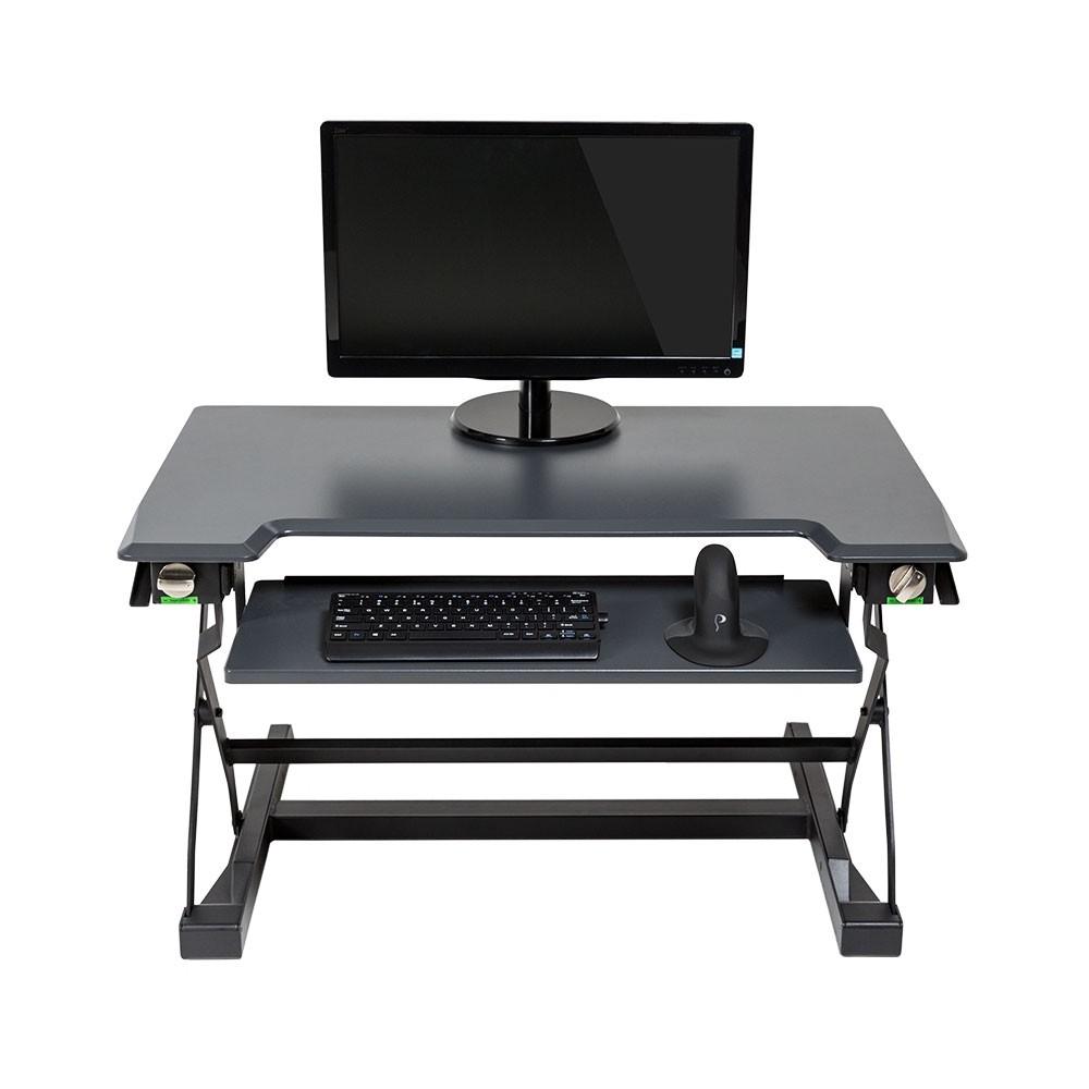 Deskrite 100 Sit Stand Platform From Posturite