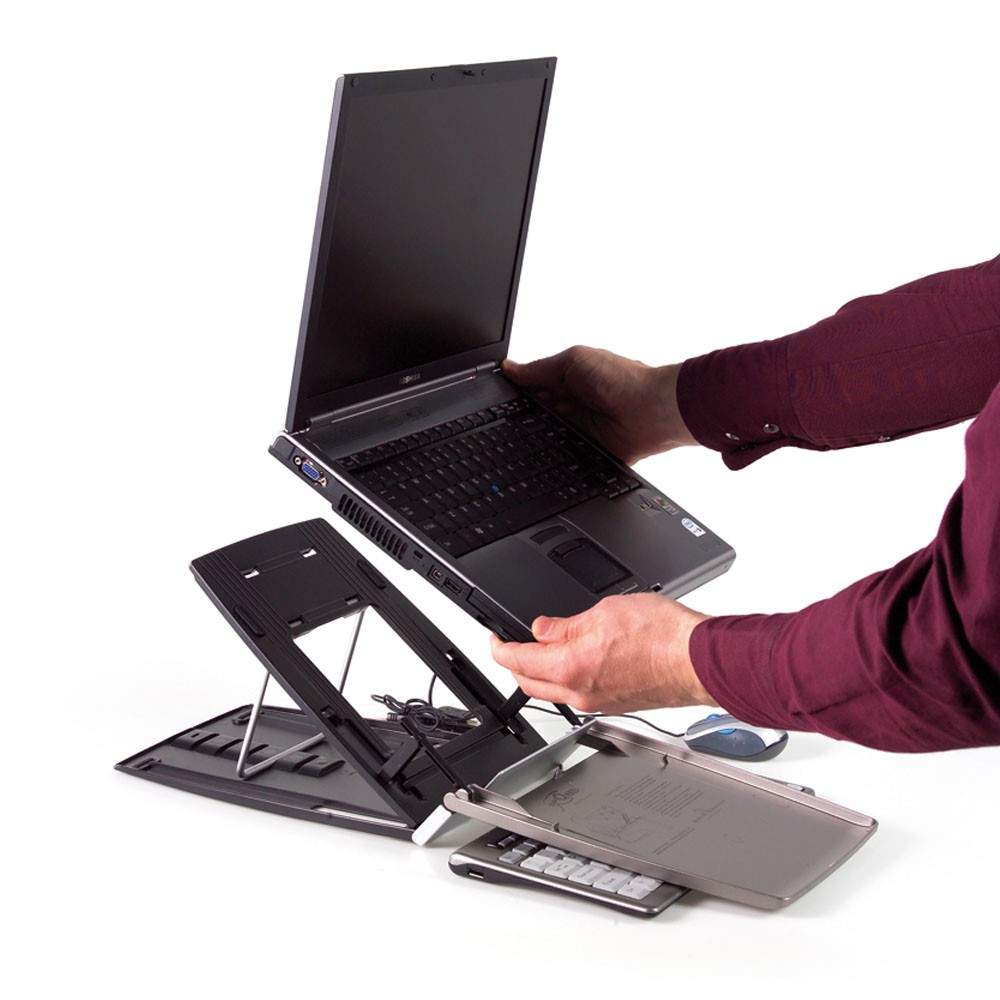 Ergo-Q 330 Laptop Stand from Posturite