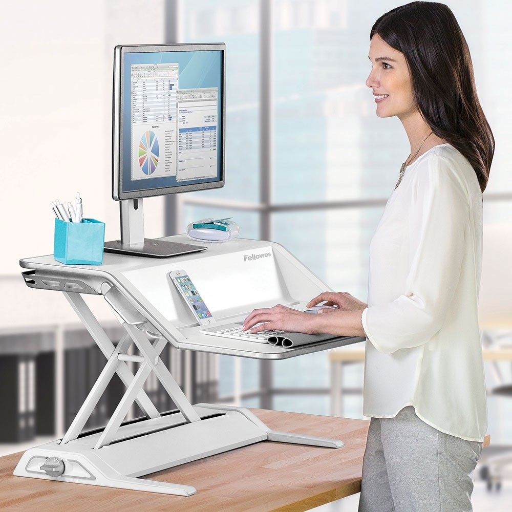 Lotus Sit Stand Workstation From Posturite