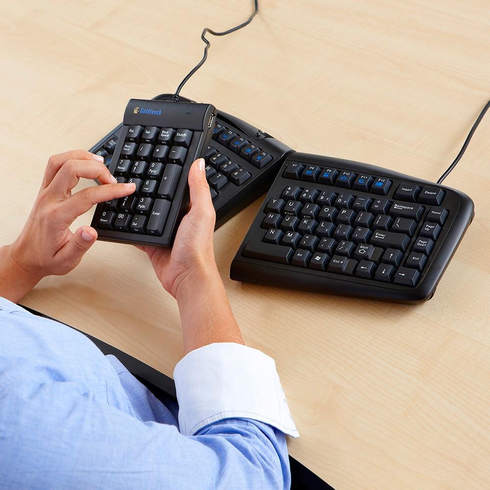 Goldtouch V2 Adjustable Comfort Keyboard From Posturite