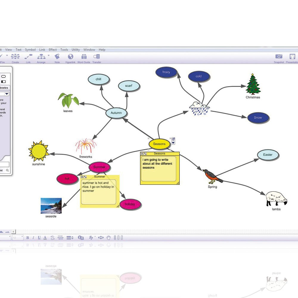 inspiration software Both windows and mac versions are included in this product the premier tool to develop ideas and organize thinking inspiration ®: ideas to outlines in seconds inspiration is a thought engine, a thought processor.