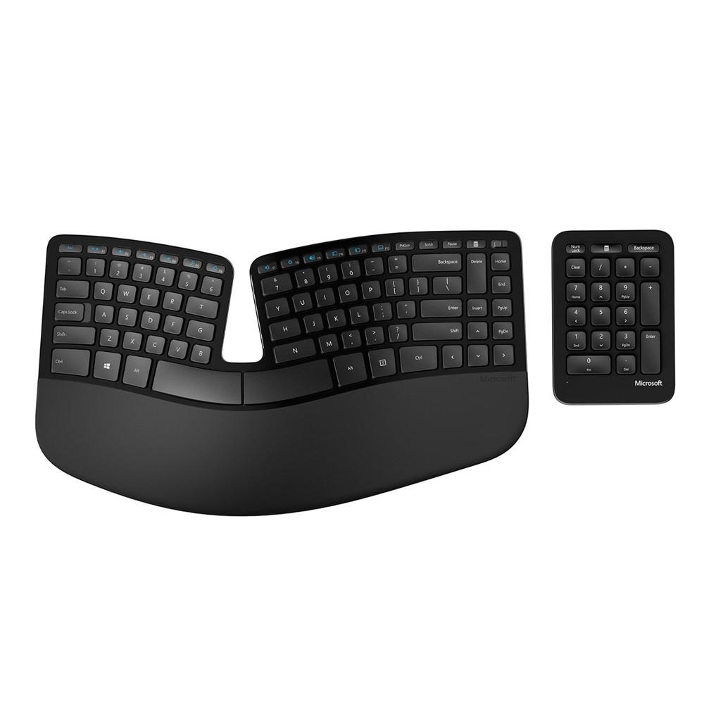 Microsoft Sculpt Ergonomic Keyboard & Number Pad | Posturite